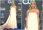 Lady Gaga In Calvin Klein by Appointment @ 2019 Critics' Choice Awards