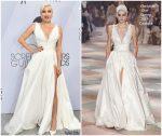 Lady Gaga In Christian Dior Haute Couture  @ 2019 SAG Awards