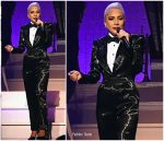 Lady Gaga  In Ralph Lauren @ Jazz & Piano Residency