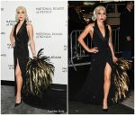 Lady Gaga In Ralph Lauren @ National Board Of Review Annual Awards Gala