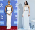 Laura Harrier In Cushnie @ 2019   Palm Springs International Film Festival Gala