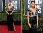 Laura Harrier In Louis Vuitton  @ 2019 Golden Globe Awards