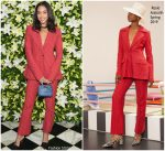 Laura Harrier In Rosie Assoulin @ WSJ. Magazine Talents and Legends Dinner
