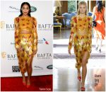 Laura Harrier in Altuzarra @ 2019  BAFTA Los Angeles Tea Party