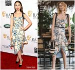Lily Collins in Johanna Ortiz @  2019  BAFTA Los Angeles Tea Party