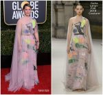 Lucy Liu In Galia Lahav Couture  @ 2019 Golden Globe Awards