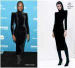 Lupita Nyong'o In Alex Perry @ 'Little Monsters' Sundance Film Festival Premiere