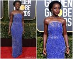 Lupita Nyong'o In Calvin Klein by Appointment  @ 2019 Golden Globe Awards