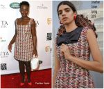 Lupita Nyong'o in Jonathan Cohen @  2019 BAFTA Los Angeles Tea Party