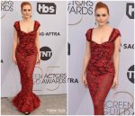 Madeline Brewer In Brock Collection  @ 2019 SAG Awards