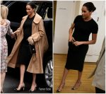 Meghan, Duchess of Sussex In Hatch Collection & Oscar de la Renta @ Smart Works Visit