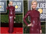 Nicole Kidman In Michael Kors Collection @ 2019 Golden Globe Awards
