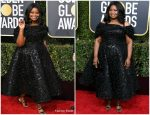 Octavia Spencer In Christian Siriano  @ 2019 Golden Globe Awards
