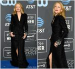 Patricia Clarkson In Georges Chakra Couture @ 2019 Critics' Choice Awards