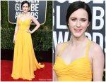 Rachel Brosnahan In Prada @ 2019 Golden Globe Awards