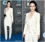 Rachel Brosnahan In Carolina Herrera @ 2019 Critics' Choice Awards