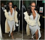 Rihanna In  Alexandre Vauthier – 2019 New Years Eve Celebration In London