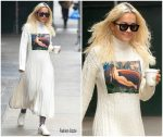 Rita Ora In Kenzo -Out In New York