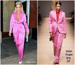 Rita Ora In Salvatore Ferragamo Out In New York