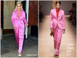 Rita Ora in Salvatore Ferragamo @ The Tonight Show Starring Jimmy Fallon