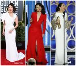 Sandra Oh Outfits Hosting 2019 Golden Globe Awards