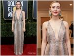 Saoirse Ronan In Gucci  @ 2019 Golden Globe Awards