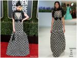 Sofia Carson In Giambattista Valli Haute Couture  @ 2019 Golden Globe Awards