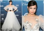Sofia Carson In Monique Lhuillier  @ Art Of Elysium 'Heaven' Gala