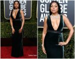 Taraji P. Henson In Vera Wang  @ 2019 Golden Globe Awards