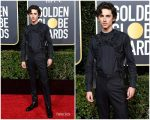 Timothée Chalamet In Louis Vuitton  @ 2019 Golden Globe Awards