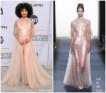 Yara Shahidi In Fendi Couture @ 2019 SAG Awards