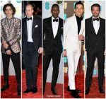 2019 BAFTAs Menswear Redcarpet