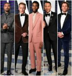 2019 Vanity Fair Oscar Party Menswear