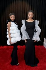 Chloe X Halle In Isabel Sanchis Couture @ 2019 Grammy Awards