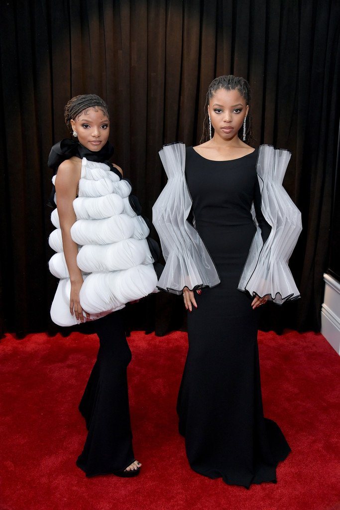 chloe-x-halle-in-isabel-sanchis-couture-2019-grammy-awards