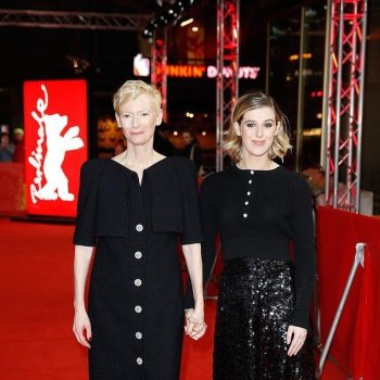 tilda-swinton-and-honor-swinton-byrne-in-chanel-@-'the-souvenir'-berlin-international-film-festival-premiere