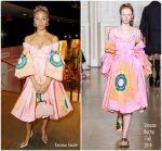 Adwoa Aboah in Simone Rocha @ Naked Heart Foundation's Fund Fair