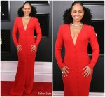 Alicia Keys In Giorgio Armani @ 2019 Grammy Awards