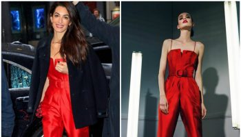 amal-clooney-in-sergio-hudson-meghan-markles-baby-shower