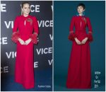 Amy Adams In Andrew Gn @ 'Vice' Paris Premiere