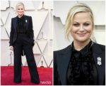 Amy Poehler  In  Alberta Ferretti Limited Edition @ 2019 Oscars