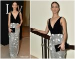 Angela Sarafyan In Monique Lhuillier @ Learning Lab Ventures 2019 Gala