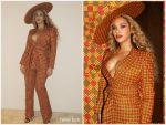 Beyonce Knowles In EnaGancio @ Dreamweavers Exhibition Opening Celebration