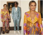 Beyonce Knowles In Peter Pilotto For 2019 Brit Awards Acceptance Speech
