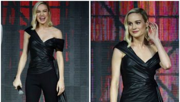 brie-larson-in-oscar-de-la-renta-captain-marvel-talent-tour-fan-event