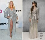Busy Philipps  In  Jenny Packham @ 2019 Elton John AIDS Foundation Academy Awards Viewing Party