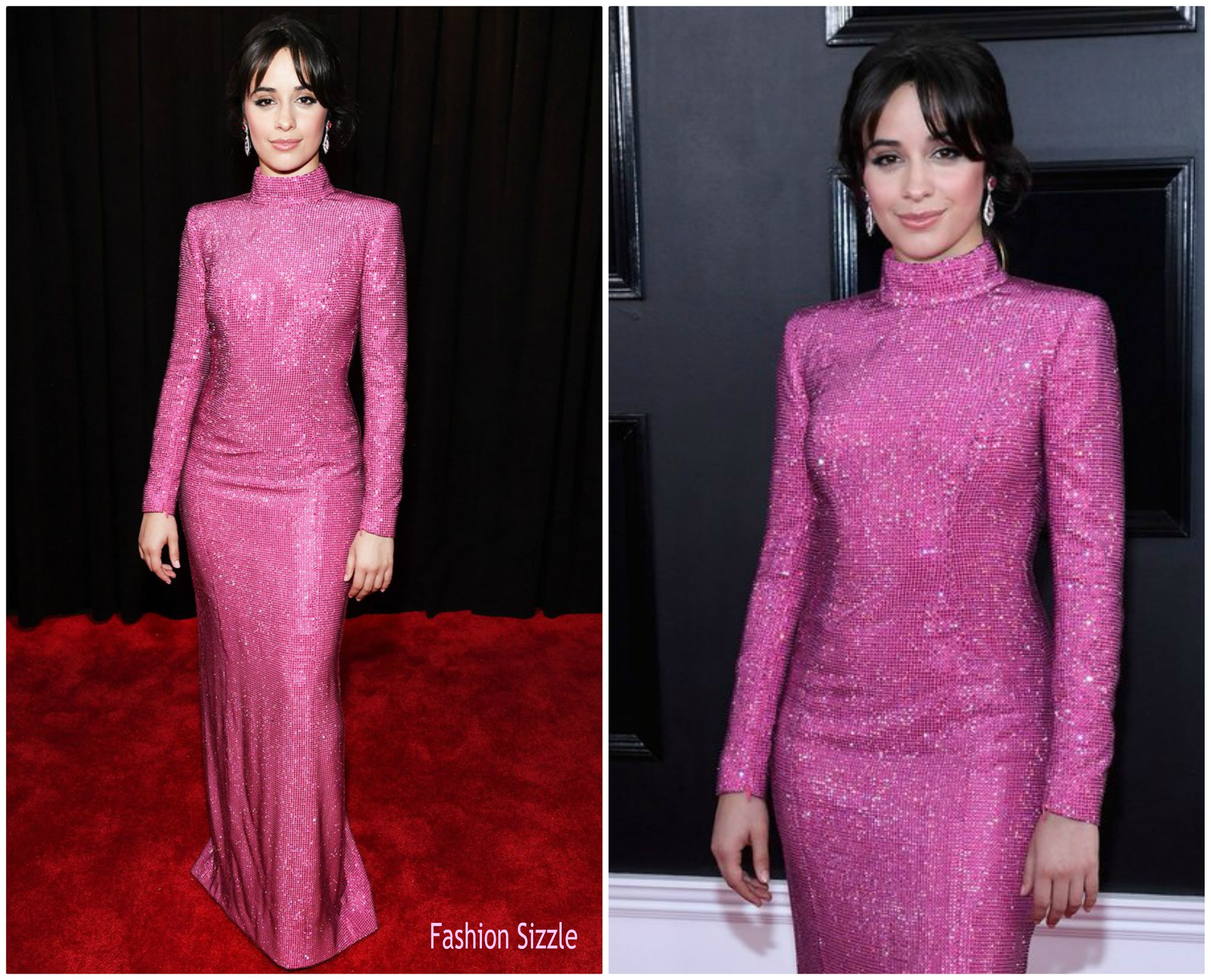 camila cabello in armani prive 2019 grammy awards fashionsizzle camila cabello in armani prive 2019