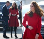 Catherine, Duchess of Cambridge In CH Carolina Herrera @ Northern Ireland Visit