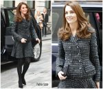 Catherine, Duchess Of Cambridge In Dolce & Gabbana   @  Royal Foundation's 'Mental Health in Education' Conference