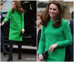 Catherine, Duchess of Cambridge In Eponine London @ Lavender Primary School Visit